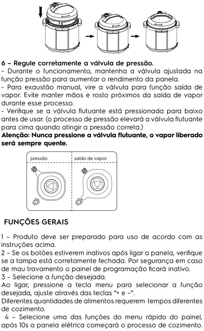 Panela de pressão elétrica Electrolux - PCC20 - usando produto 3