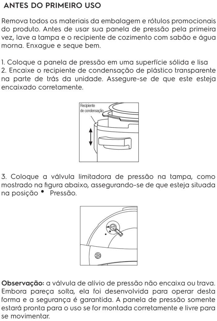 Panela de pressão elétrica Electrolux - PCE20 - usando produto 1