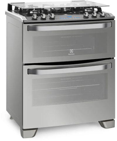Conhecendo o fogão a gás Electrolux - 76dxv