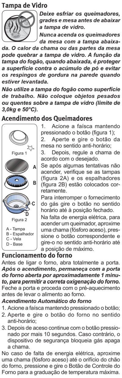 Fogão Electrolux - 76EXR - usando produto 2