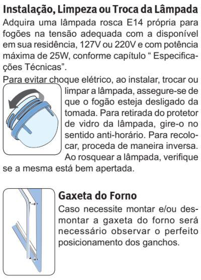 Fogão Electrolux - 76EXR - usando produto 6