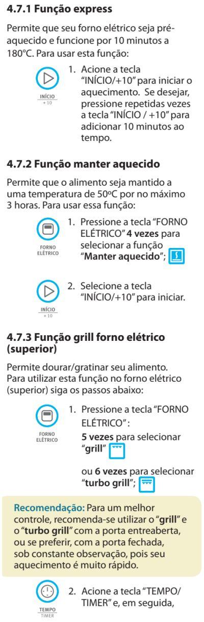 Fogão Electrolux - 76dvx - como usar 11