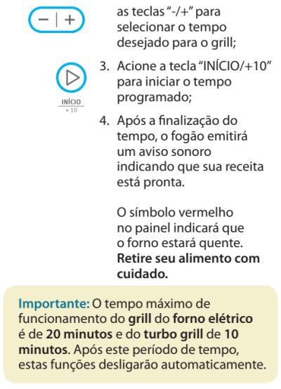Fogão Electrolux - 76dvx - como usar 12