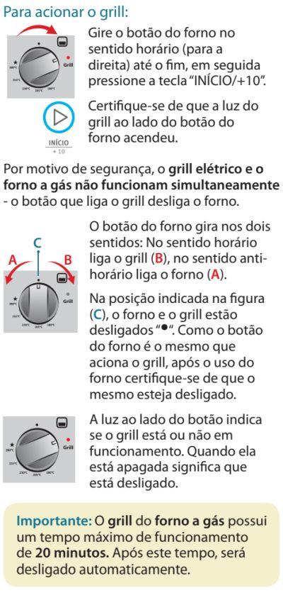 Fogão Electrolux - 76dvx - como usar 15
