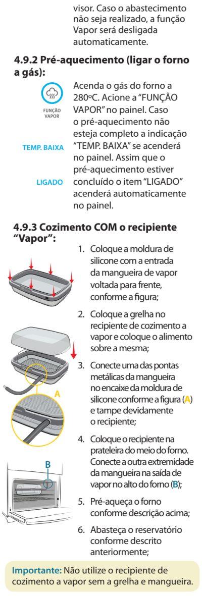 Fogão Electrolux - 76dvx - como usar 19