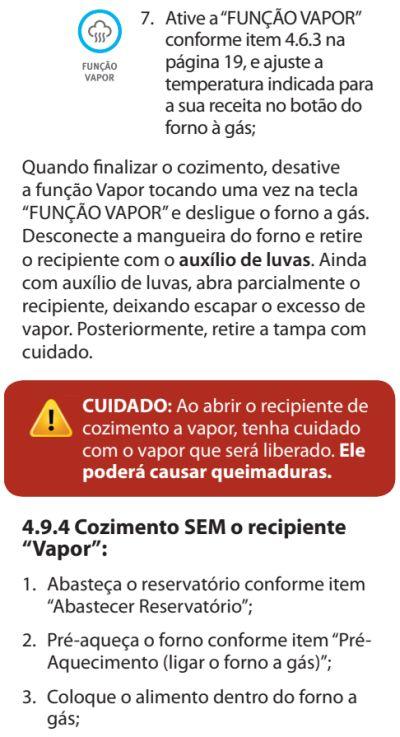 Fogão Electrolux - 76dvx - como usar 20