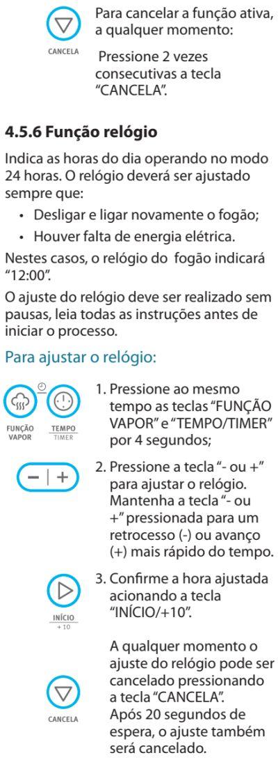 Fogão Electrolux - 76dvx - como usar 5
