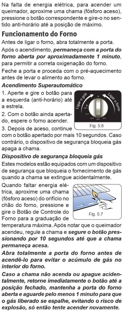Fogão Electrolux - 76EIX - usando produto 3