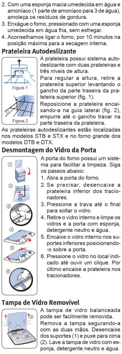 Fogão Electrolux - 56DTB - limpando produto 3
