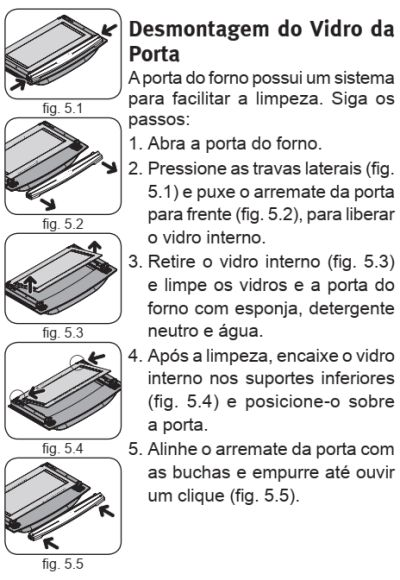Fogão Electrolux - 76gs - limpando produto 3