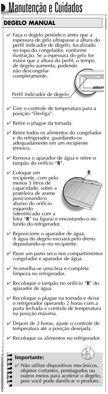 Geladeira Consul CRC30 - limpando a geladeira 1