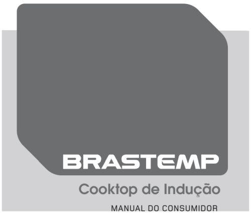 Cooktop de indução Brastemp - capa manual