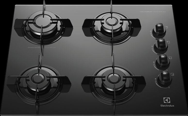 Solução de problemas do Cooktop a gás Electrolux - ke4tp