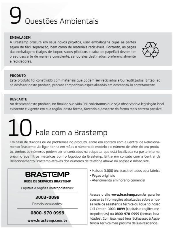 Forno elétrico Brastemp BOC90 - solucionando problemas do produto 2
