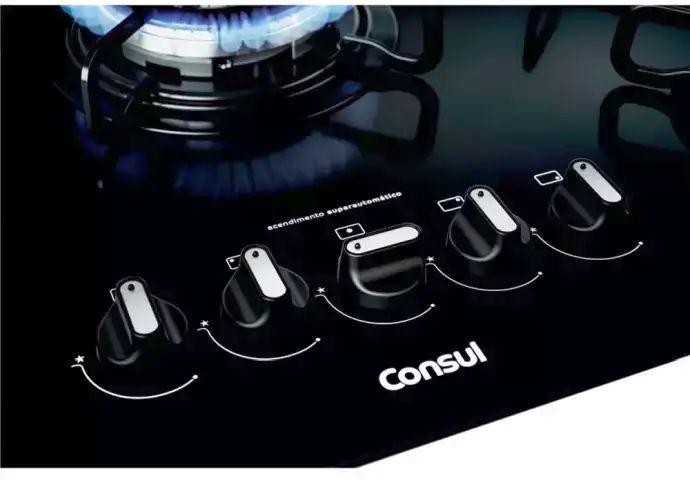Instruções de segurança no uso do cooktop Consul