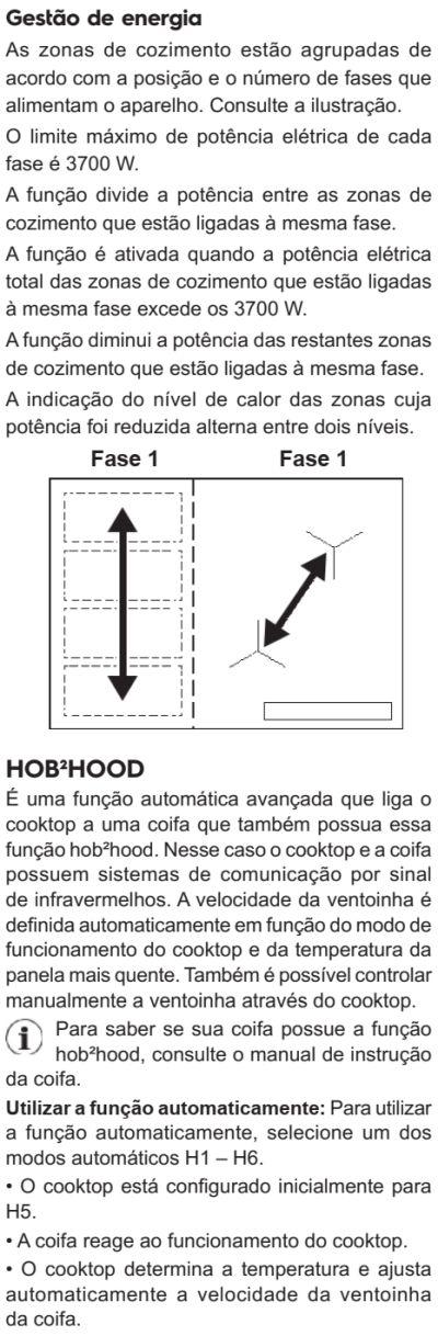 Cooktop de indução Electrolux - ie8fb - usando cooktop de indução 12