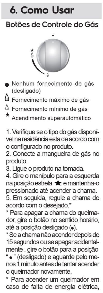 Cooktop a gás Electrolux - usando o produto - ke4gp - 1