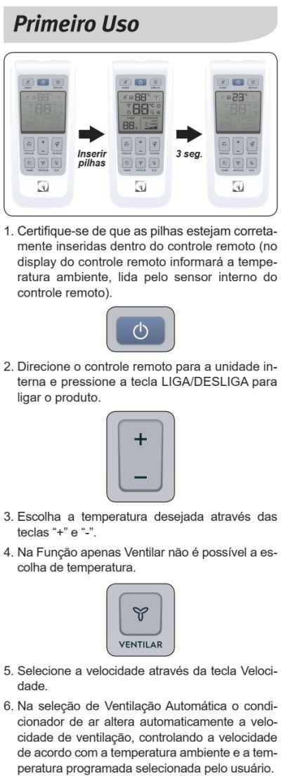 Ar condicionado Electrolux xi-xe - conhecendo produto 3