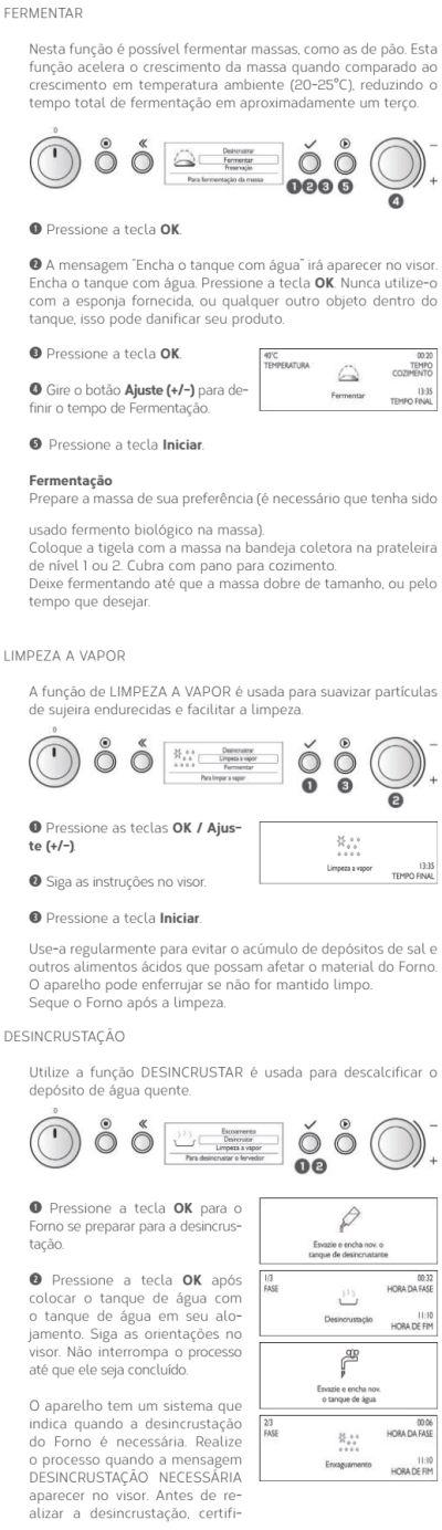 Forno elétrico Brastemp BOD45 - usando produto 7
