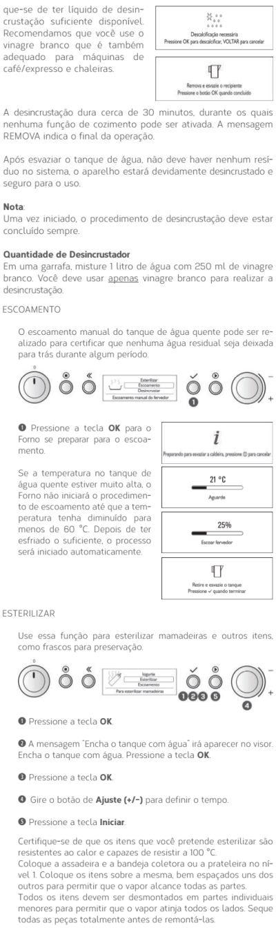 Forno elétrico Brastemp BOD45 - usando produto 8