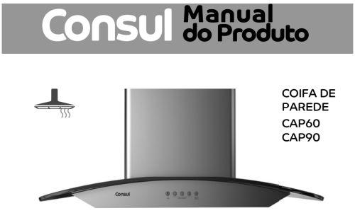 Coifa Consul - capa manual