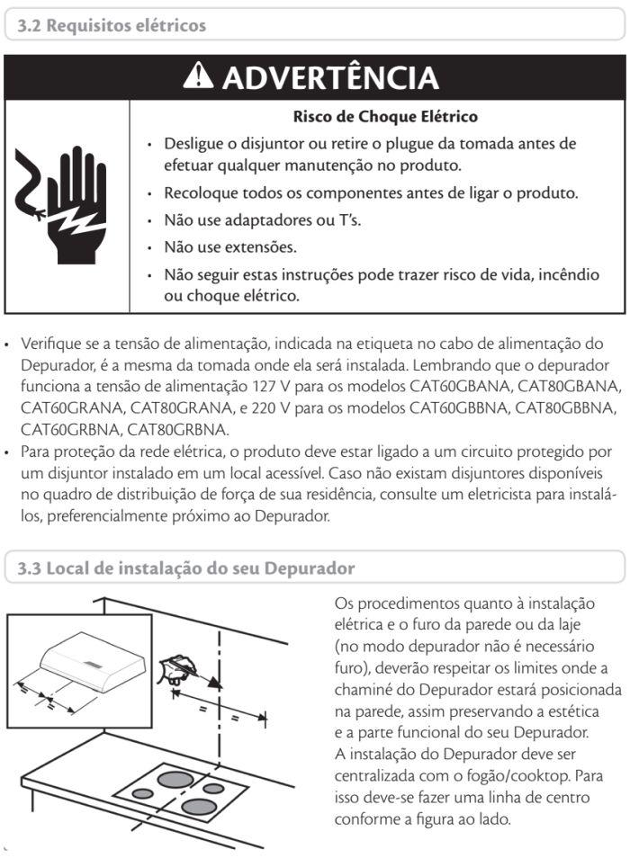 Depurador de ar Consul id3 - instalando produto 2