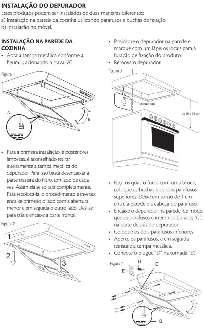 Depurador de ar Consul id3 - instalando produto 7