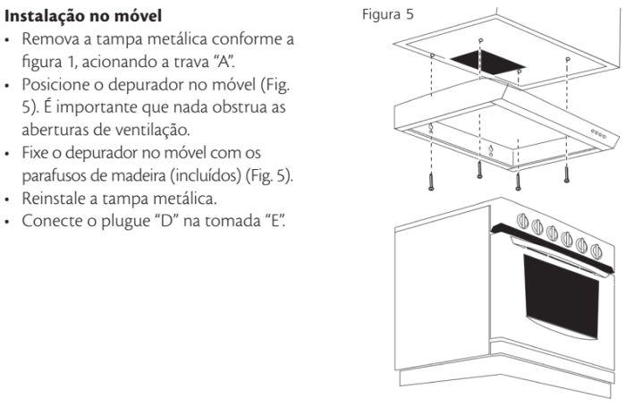 Depurador de ar Consul id3 - instalando produto 8