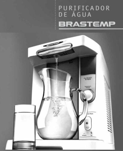 Purificador de água  Brastemp - capa manual