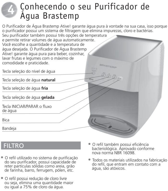 Purificador de água Brastemp - Smart - Conhecendo produto 1