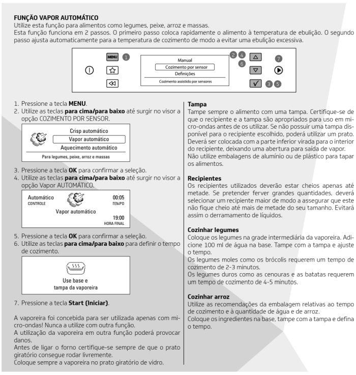 Microondas Brastemp - bmo40 -  como usar 13