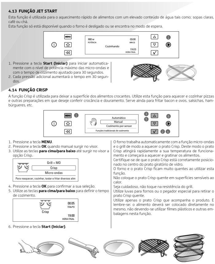 Microondas Brastemp - bmo40 -  como usar 7