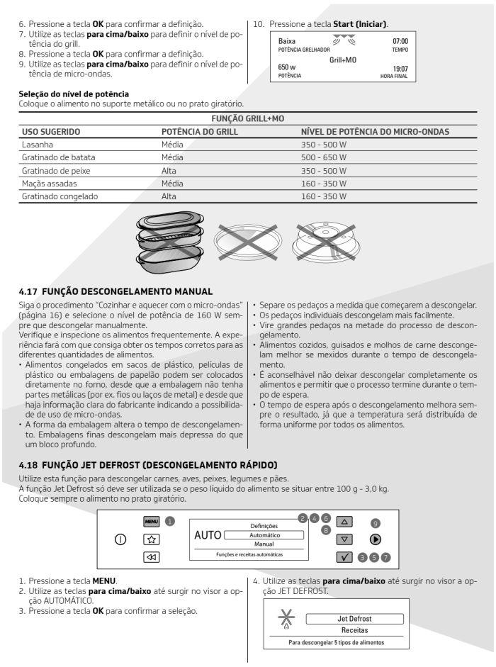 Microondas Brastemp - bmo40 -  como usar 9