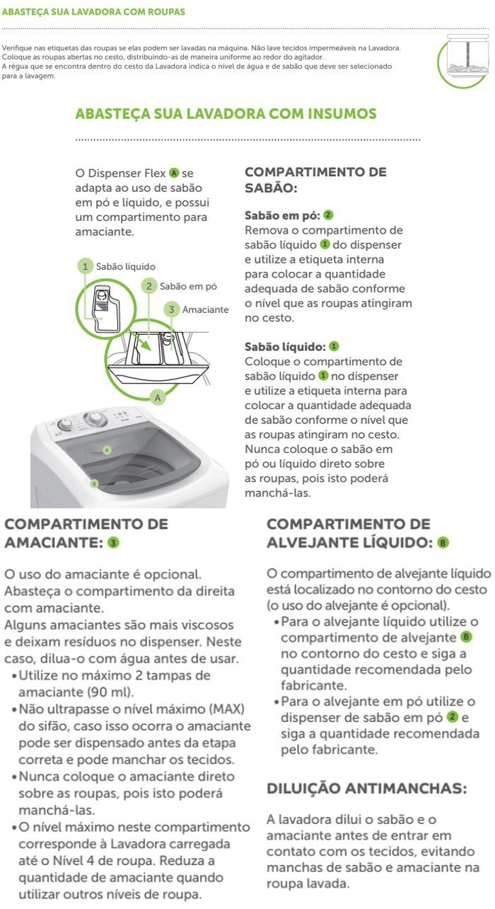 Lavadora de roupas Consul  CWS11 - como usar 1