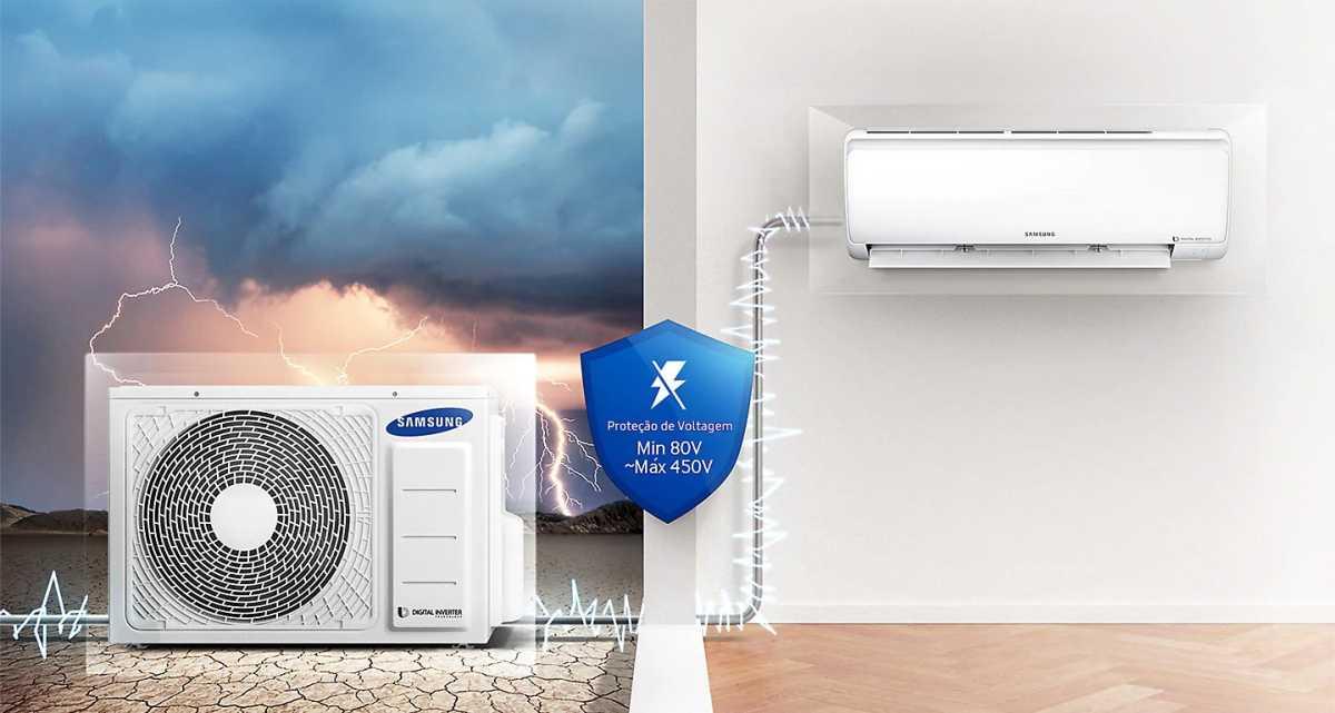Resolvendo problemas do ar condicionado Samsung Wind Free AR**MVPX***