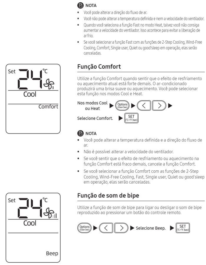 Ar condicionado split Samsung Inverter Wind Free AR**NSPX*** - conhecendo produto 8