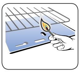 Fogão Electrolux - como acender o forno - acendimento manual