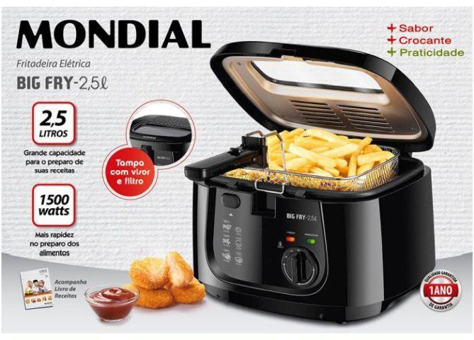 Como usar a fritadeira elétrica Mondial - FT-07