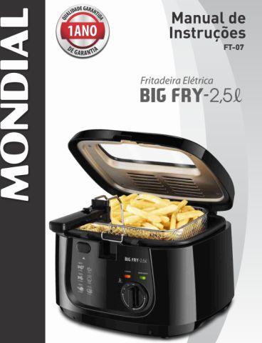Fritadeira mondial - capa manual geral