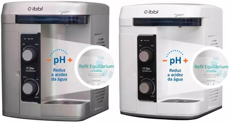 Solução de problemas do purificador de água IBBL e-due