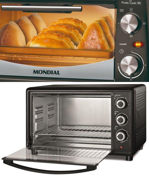 Instruções de segurança no uso do forno elétrico Mondial