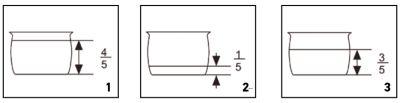 Panela de pressão elétrica Mondial - PE-48 - como usar - nível alimento