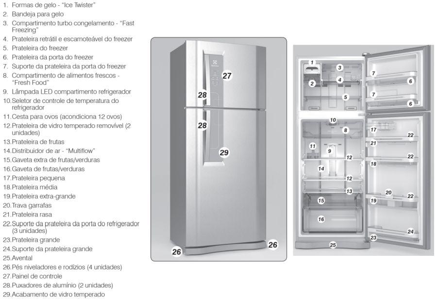 Geladeira Electrolux DF53 - conhecendo produto 1
