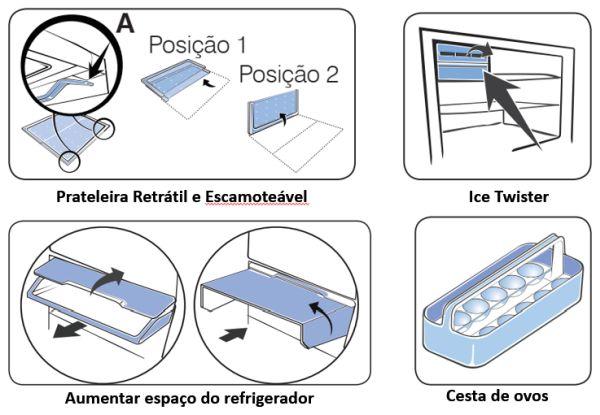 Geladeira Electrolux DF54 - conhecendo produto 2