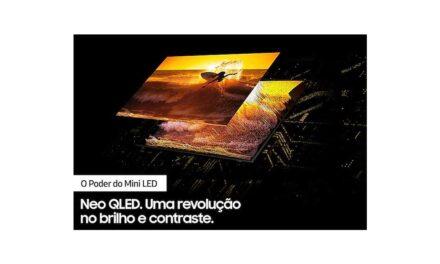 Ficha técnica do smart TV Samsung Neo QLED 4K 55QN85A